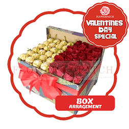 vday with badge BOX